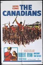 G625 THE CANADIANS one-sheet movie poster '61 Robert Ryan, John Dehner