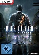 PC gioco Murdered Soul Suspect DVD spedizione Dt. versione Merce Nuova