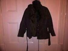 Brown  Fur jackets  Ladies Larque  NEW  Christmas  gift ideas UK FREE POST