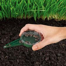 Garden Yard Farm Dial Seed Sower Planter Flower Grass Seeder Spreader Tool New