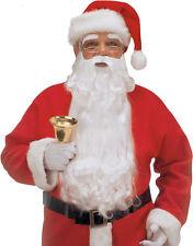 Deluxe Weihnachtsbart und Augenbrauen NEU - Karneval Fasching Bart Verkleidung