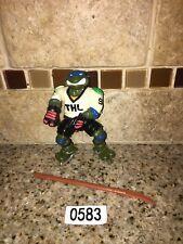 LEONARDO 1991 Teenage Mutant Ninja Turtles SLAP SHOT LEO Hockey Player # 0583