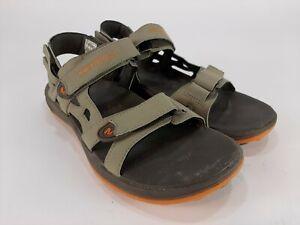 Merrell Cedrus Convertible Sandals Bungee Cord Marmalade Gray Mens Size 9