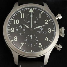 Ticino BF-109 Automatic Pilot Chronograph Watch