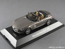 1/43 Schuco Mercedes Benz SLS AMG Roadster 2011 - AMG Monza grau magno - 141074