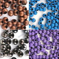 Wholesale 20/50/100PCS Metal Loose Charms Spacer Round Beads Crafts 3/4/5/6/8mm