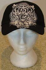 Sean John Men's Tiger Skull Baseball Cap - Black - One Size