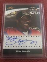 Mike Blakely 2011 Leaf U.S. Army All American Auto RC