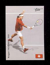 (100) ROGER FEDERER (red) 2003 NetPro ELITE Tennis Card #E3 LOT
