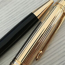 Luxurious Ballpoint pen With the serial number a well-Known brand MB Black Gold