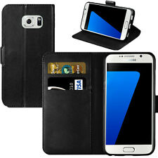 Leather Book Wallet Magnetic Flip Pouch Case Cover for Samsung Galaxy S3 I9300 Black