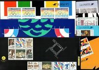 S138494/ FRANCE – JOINT ISSUES SOUVENIRS / LOT 1988 - 2000 MINT CV 348 $