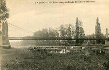 Carte BASSOU Le Pont suspendu de Bonnard Bassou