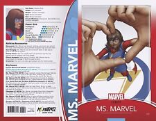 MS MARVEL 25 JOHN CHRISTOPHER TRADING CARD VARIANT NM LEGACY TIE