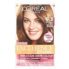L'Oréal eccellenza Triple cura Crème 6.3 Colore Luce Naturale Marrone Dorato