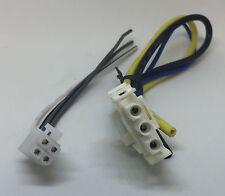 JBL GTS100 GTS100X 3 PIN power Plug harness and 4 PIN Speaker output harness