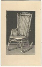1880s Wakefield Rattan Company Rocking Chair Trade Card (Pre- Heywood-Wakefield)