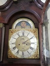 More details for antique 8 day grandfather clock