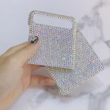 Bling Sparkle A-Class Crystals Diamonds AB Iridescent Color for Samsung z flip