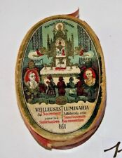 C115 Ancienne boite Les Veilleuses du Sacrement pour les sanctuaires