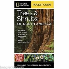 NEW National Geographic Pocket Guide to Trees and Shrubs of North America Book