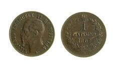 s288_56)  Vittorio Emanuele II (1861-1878)  1 Centesimo Valore 1867 M