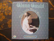 LP REISSUE GLENN GOULD - The Little Bach Book / CBS Masterworks CBS 76986 (1981)