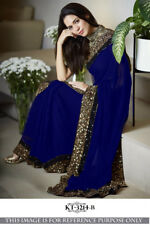 Indian Designer Saree Bollywood Party Wear Diwali Sari Hot Indian Designer Saree