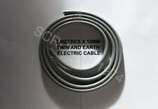 10MM TWIN AND EARTH CABLE 6242Y 2 METRE LENGTH SUITIBLE SHOWERS/COOKER CABLE