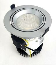 SLV NEW TRIA DLMI ROUND Downlight, silbergrau, 3000K, 60°