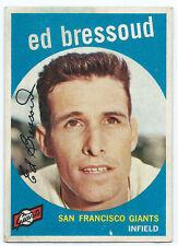 1959 Venezuelan Topps ED BRESSOUD #  19 RARE!!