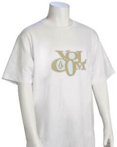 Volcom Boy's Docket T-Shirt - White - New