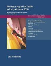 Plunkett's Apparel & Textiles Industry Almanac , Plunkett, W. PF,,