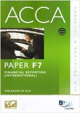 ACCA - F7 Financial Reporting (INT): Paper F7: Revision Kit,BPP Learning Media