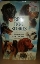 Best Dog Stories Hardback book introduction by Gerald Durrell For Sale