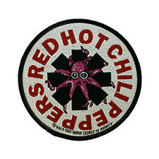 Red Hot Chili Peppers Woven Sew On Patch - Octopus Battle Jacket Patch #74