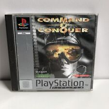 PS1 Playstation1 Command & Conquer Platinum complete