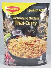 Maggi  Magic Asia  Gebratene Nudeln mit Thai-Curry