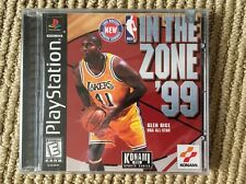 NBA: In the Zone '99 - PS1 - Brand New - Factory Sealed - Black Label !!