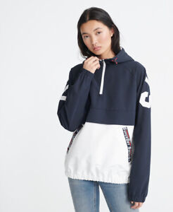 Superdry Damen Jacke Zum Überziehen Mit Farbblock-Design