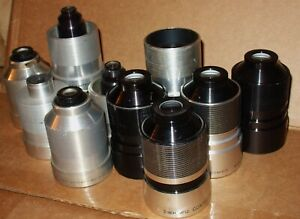 BELL & HOWELL 16 MM MODEL 100-3500  PROJECTOR LENSES,VARIOUS FOCAL SIZES (NOTE)*