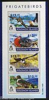 SOLOMON ISLANDS 2015 FRIGATE BIRDS SHEET   MINT NH