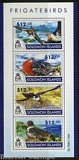 SOLOMON ISLANDS 2015 FRIGATE BIRDS SHEET   MINT NH