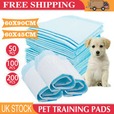More details for 200x dog training mat toilet pads pet puppy indoor potty pad 60x90cm 60x45cm