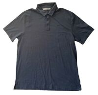 Travis Mathew Mens Golf Button Polo Short Sleeve Shirt Dark Gray Size 2XL XXL