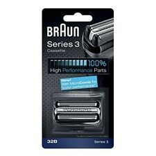 BRAUN 32B Series 3 Shaver Cassette Foil / Cutter with MicroComb Replacement Head