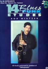14 BLUES & FUNK ETUDES Bb Ten/Sop Sax/ Mintzer +CD