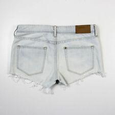 H&M Denim Low Rise Regular Size Shorts for Women