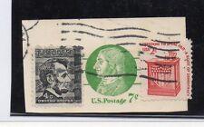 Estados Unidos Valor de Entero postal con franqueo complementario (DC-434)