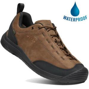 Keen Jasper II Mens Waterproof Brown Climbing Style Walking Shoes Size UK 8-13